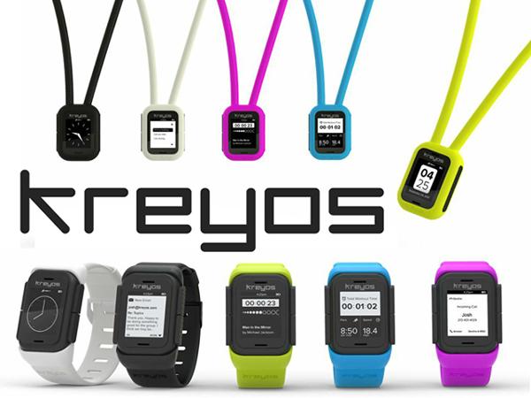 Kreyos Smartwatch: интеллект и спорт