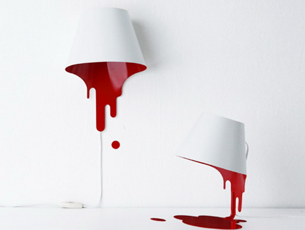 «Жидкая лампа» от kyouei design