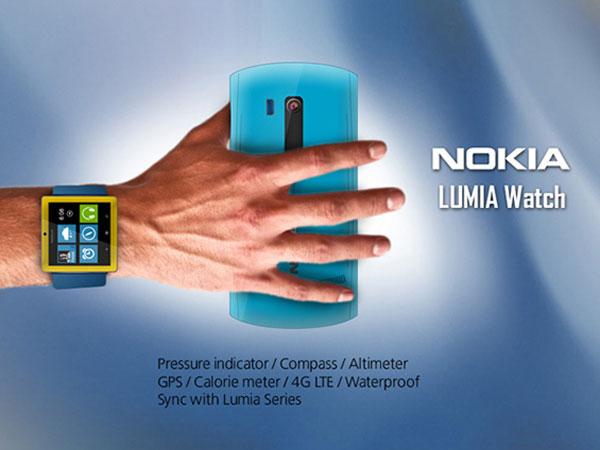 Nokia Lumia Watch для Windows-phone