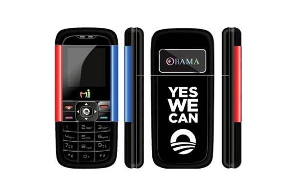 Mi-Obama - телефон в честь Барака Обамы от кенийской компании Mі-fone