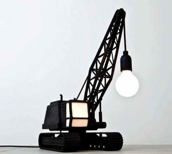 Светильники в форме башенного крана