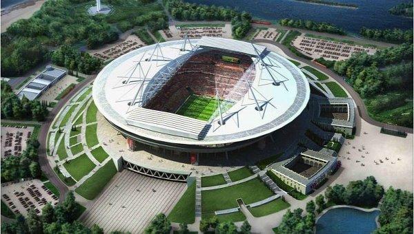 Стадион в Петербурге