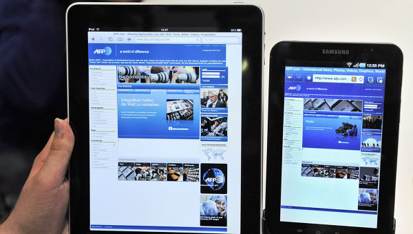 Apple iPad и Samsung Galaxy Tab