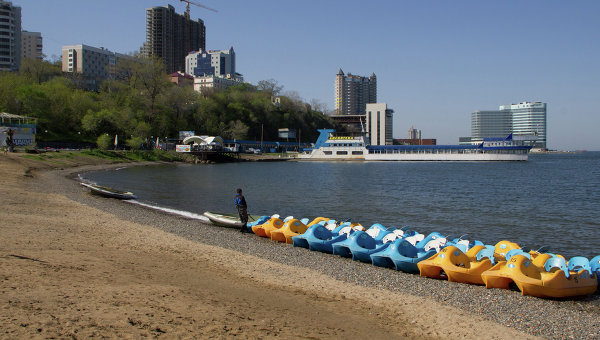 Спортивная гавань во Владивостоке