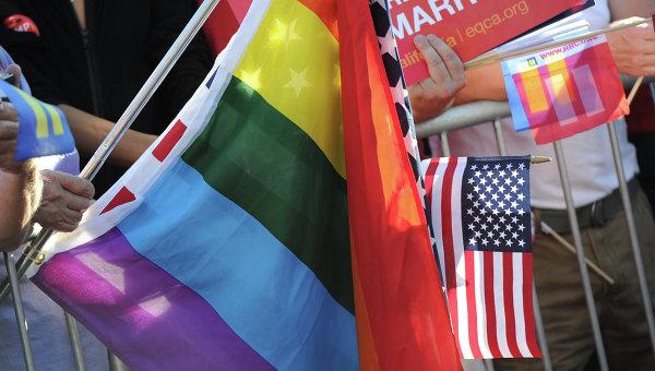 Флаг сексуальных меньшинств в США