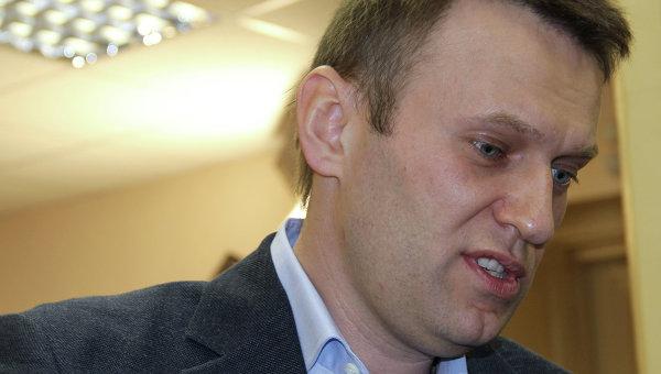 Оппозиционер, блогер Алексей Навальный. Архив