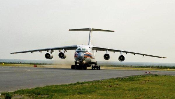 Борт ИЛ-76 МЧС