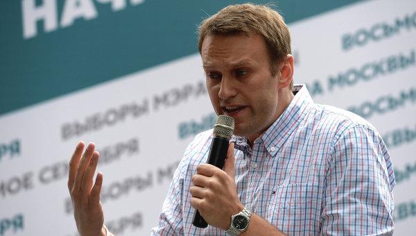 Кандидат в мэры Москвы Алексей Навальный встретился с избирателями