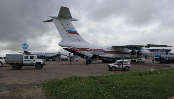 Гуманитарный груз прибыл в затопленные села