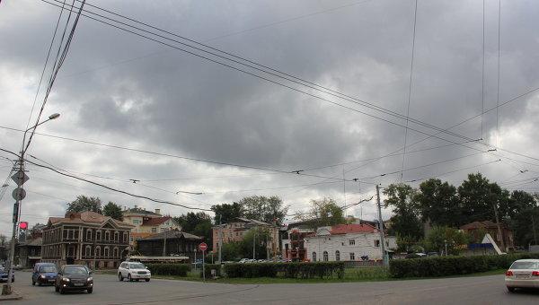 Пасмурная погода в Томске