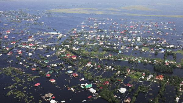 Паводок в Амурской области