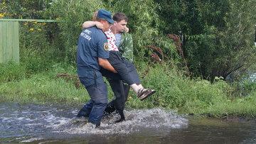 Эвакуация в Ленинском районе Еврейской автономной области