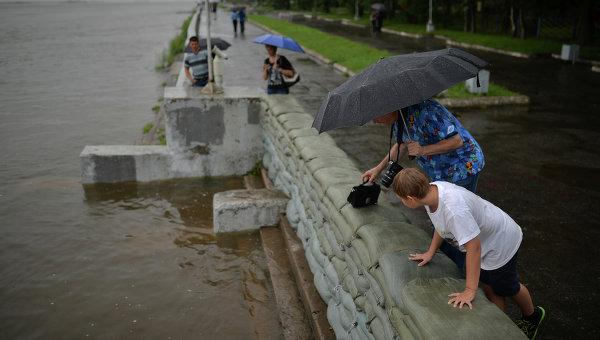 Паводковая ситуация в Хабаровске