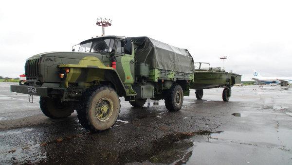 Военные помогают ликвидировать последствия паводков на Дальнем Востоке