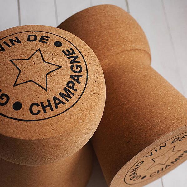 Champagne Cork Stool из пробки