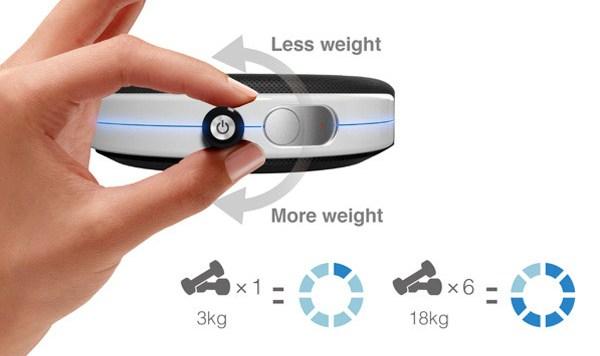 Magnetic Dumbbell – универсальные магнитные гантели для дома и спортзала
