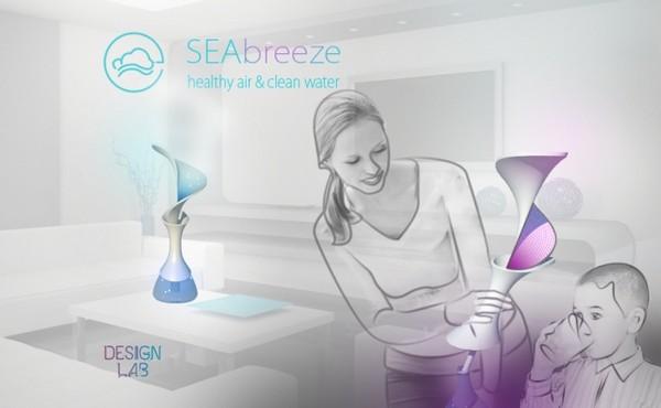 Увлажнитель воздуха SEAbreeze со свойствами морского бриза