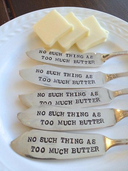 Spread the Love - креативное решение на тему столовых ножей от ForSuchATimeDesigns