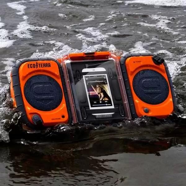 Походный водонепроницаемый аудиомагнитофон Eco Terra