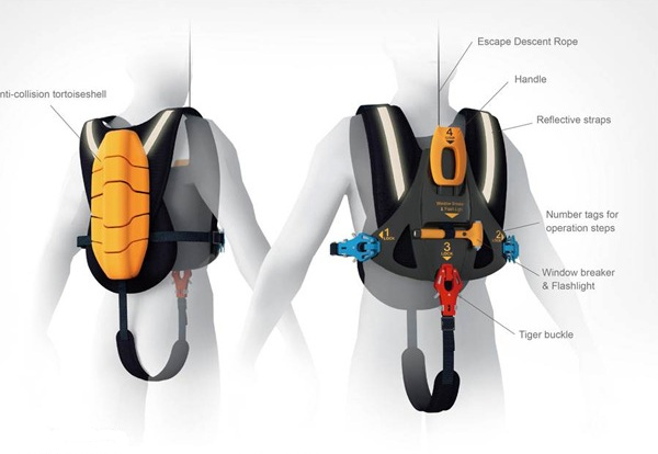 Оборудование Descending Escape Vest
