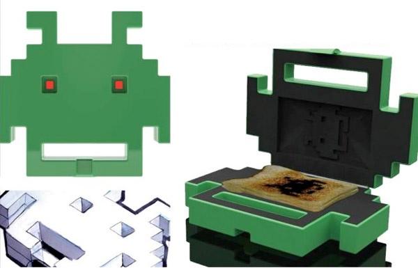 Концептуальный тостер Space Invaders от Chris Naylor