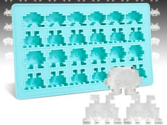 Гиковская форма для льда Space Invaders Ice Tray