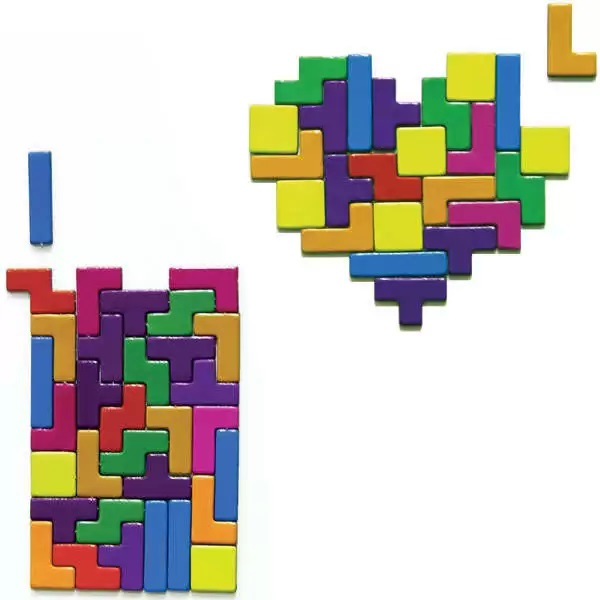 Гиковский набор магнитов на холодильник Tetris от Paladone Products