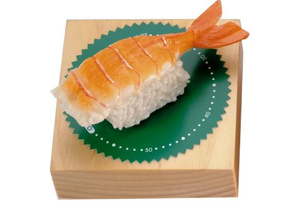 Реалистичный кухонный таймер-'суши' для поклонников японской кухни