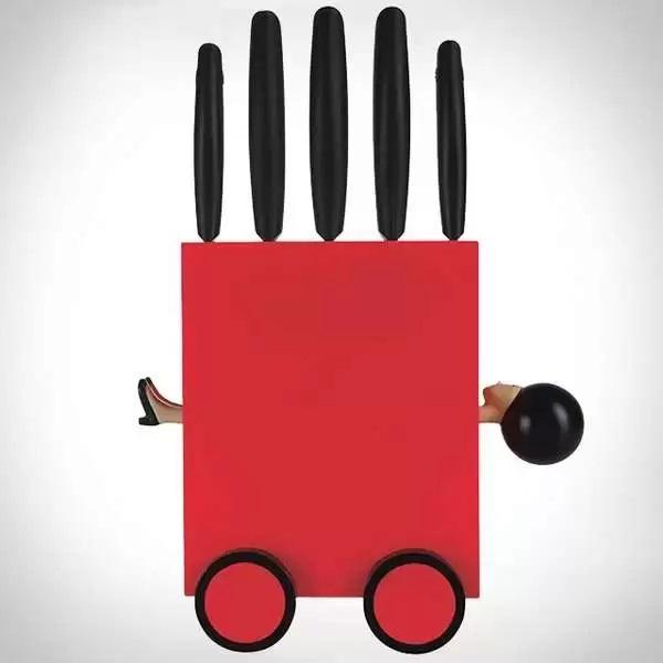 Magic Knife Box Stand - подставка для столовых ножей от Mikko Senna