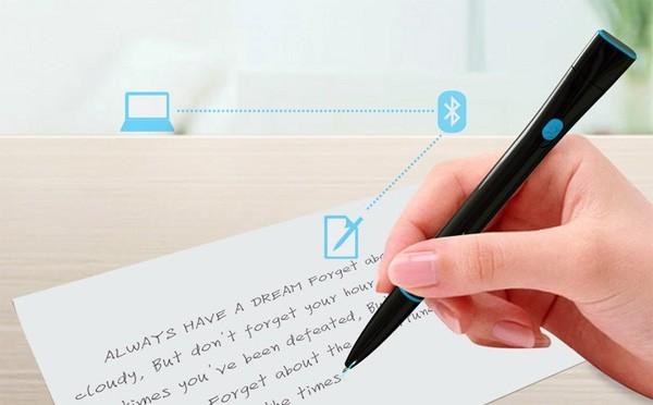 Recorder Pen – ручка, которая превращает рукописный текст в печатный