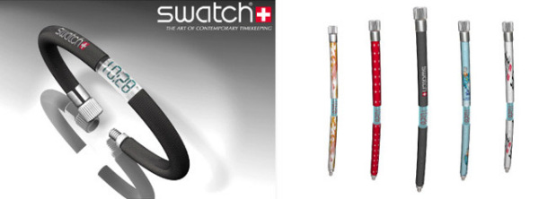 Часы из насосного шланга от Swatch