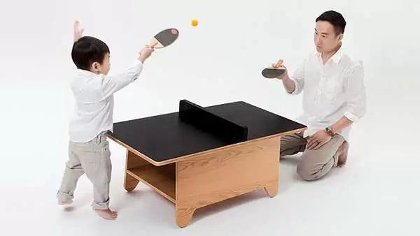 Необычный столик для игры в пинг-понг от Mike Mak
