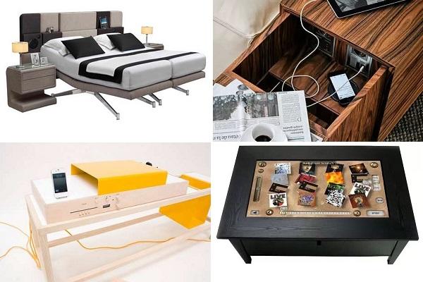 Высокотехнологичная мебель для работы и отдыха