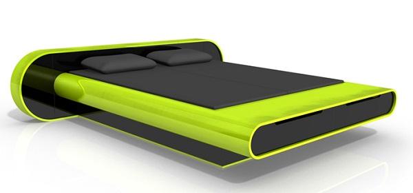 Glow Bed - высокотехнологичная кровать от Karim Rashid