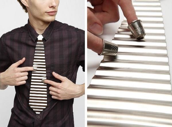 Музыкальный галстук Washboard Tie