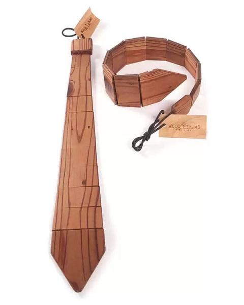 WOOD TIE - деревянный галстук от uncommongoods