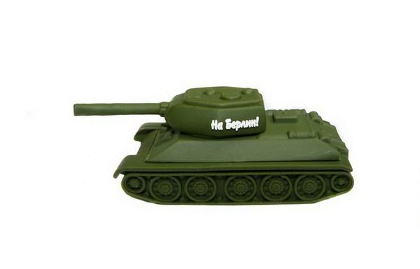 Флешка в виде танка Т-34