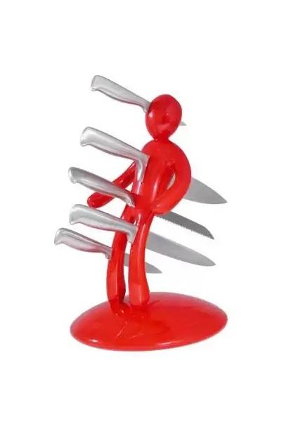 Voodoo Knife Holder - кровожадная подставка для столовых ножей от Raffaele Iannello