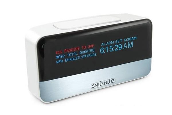 Коварный будильник Wifi Donation Alarm от SnuzNLuz