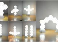Светильник-конструктор Dodecado: создай свою скульптуру, наполненную светом