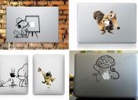 ТОП-20 самых оригинальных наклеек на MacBook и IPad
