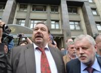 Миронов призвал Чурова передавать мандат Гудкова лишь после решения КС