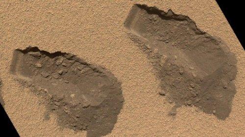 Образцы марсианского грунта