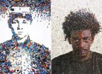 ТОП-10 картин, созданных из самых необычных материалов