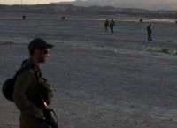 Солдаты израильской армии недалеко от популярного курорта на берегу Красного моря Эйлат