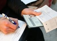 Проверка документов у мигрантов
