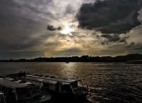 Грозовое небо над Невой