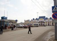 Привокзальная площадь в Томске