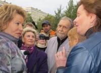 Встреча спикера Совета Федерации Валентины Матвиенко с жителями МО Красненькая Речка