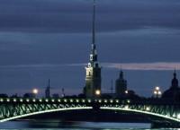 Петропавловская крепость и Дворцовый мост